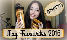 May Favourites 2016 + L'Oréal GIVEAWAY - Αγαπημένα Μαΐου | Katerina Zgr
