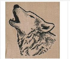 New to pinkflamingo61 on Etsy: Rubber stamp wolf head dog   cling stamp unmounted or wood Mounted  scrapbooking supplies 6825 (5.40 USD)
