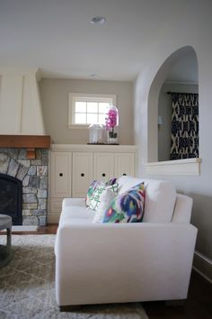 """A Family Room """"Before & After"""" - Emily A. Clark"""