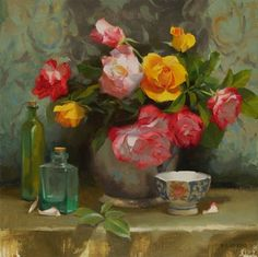 """Still Life Paintings by Canadian Artist """"Laurie Kersey"""" - Fine Art and You - Painting blog