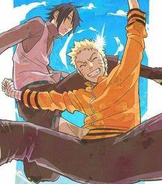 Sasuke and Naruto Sasuke X Naruto, Naruto Cute, Anime Naruto, Naruto Shippuden, Boruto, Narusasu, Sasunaru, Asuma And Kurenai, Shikamaru And Temari