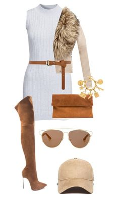 """Untitled #3"" by anigelb on Polyvore featuring Glamorous, Dorothy Perkins, New Era, Christian Dior and Chanel"