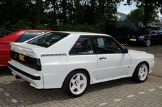 Audi Sport Quattro 1984 - New Sites Maserati, E30, Drift Truck, Chevy Vehicles, Lancia Delta, Audi Sport, Audi Cars, Nissan Skyline, Car Wheels