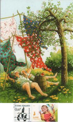 29 Ideas Illustration Art Funny Inge Look Old Lady Humor, Old Couples, Nordic Art, Funny Illustration, Whimsical Art, Funny Art, Beautiful Paintings, Old Women, Monet