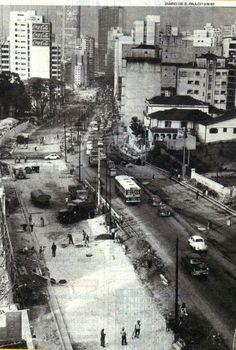 1967 - Duplicação da rua da Consolação.