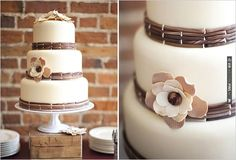rustic wedding cake | CHECK OUT MORE IDEAS AT WEDDINGPINS.NET | #weddingcakes