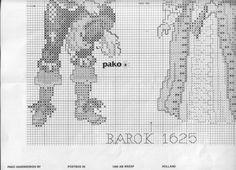 Evolution of Fashion: Baroque, 1625 of