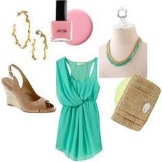 dinner outfit, created by shortycowan on Polyvore