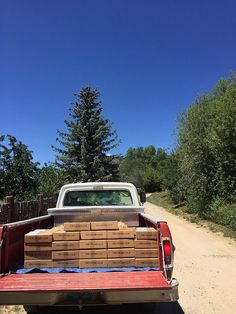 One of the three truckloads of July's Churro Club boxes, heading to the Post Office!