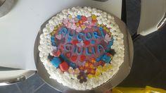 Torta di compleanno smalti pdz