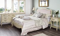 Juliette Shabby Chic Champagne Upholstered Double Bed Juliette http://www.amazon.co.uk/dp/B00FG85RG8/ref=cm_sw_r_pi_dp_qwehub0MGWRFA