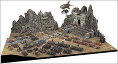 the terrain tutor bolt action table Fantasy Dwarf, Fantasy Rpg, Warhammer Dwarfs, Tabletop, Design Creation, Best Army, Warhammer Terrain, Game Terrain, Scenery Pictures