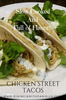 Slow cooked Chicken or Turkey marinated with flavors like Cumin! These are delicious and easy especially smothered in our Sour Cream Garlic Sauce! Slow Cooked Chicken, Baked Chicken Recipes, Shredded Chicken, Recipe For Leftover Turkey Breast, Slow Cooker Recipes, Crockpot Recipes, Easy Recipes, Cooking Recipes, Taco Dinner