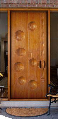 Exterior Concave Door