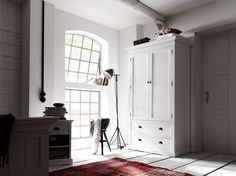 Belgravia Painted Double Wardrobe with Drawers 3