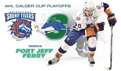 good luck to the sound tigers in round 1!! cant wait to go and watch!!
