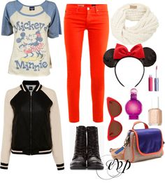 """disney land outfit"" by elainevpascual on Polyvore"