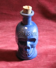 Poison Skull Bottle