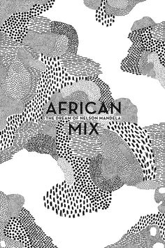 Elise Hannebicque, African mix, 2014 - black and white pattern mixing, hand drawn, book cover? Graphisches Design, Buch Design, Pattern Design, Print Design, Design Graphique, Art Graphique, Dm Poster, Logos Retro, Hang Ten