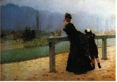Bois de Boulogne, Giuseppe de Nittis