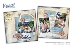 This project will show you how to create a gorgeous double page scrapbook layout using the Classique collection of SB Papers and stamps. Techniques will include use of the Ezy-Press, stamping and heat embossing. Cardmaking, Finding Yourself, Workshop, Create, Paper, Holiday, Projects, Cards, Fun