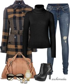 """""""Burberry for Fall"""" by archimedes16 on Polyvore"""