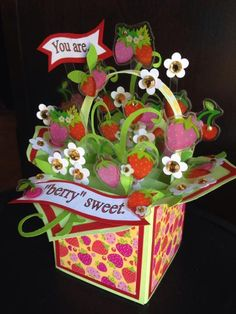 Happy Berry Basket by mazzybear - Cards and Paper Crafts at Splitcoaststampers