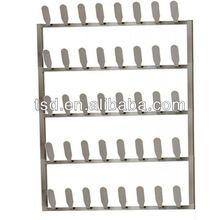 20 pair metal wall mounted shoe racks/metal shoe rack design/wall mounted wire  sc 1 st  Pinterest : wall hung shoe cabinet - Cheerinfomania.Com