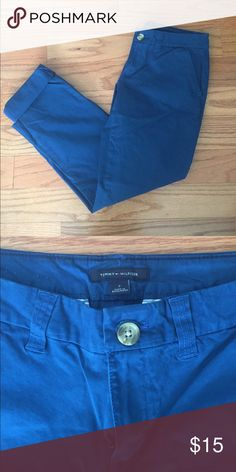 NWOT Tommy Hilfiger Roll-Up Pants Brand new Tommy Hilfiger pant. Can be rolled easily into capris or kept as an ankle pant! I love these and wish they fit! Tommy Hilfiger Pants Capris