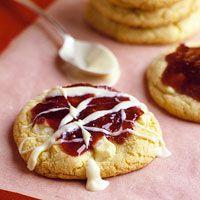 White Chocolate Raspberry Cookies, bhg