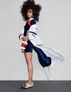 Lineisy Monteiro by Patrick Demarchelier for Vogue UK February 2016 7