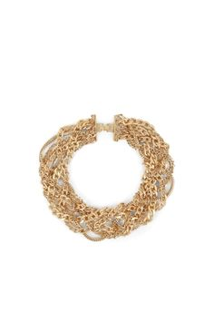 BCBG braided necklace