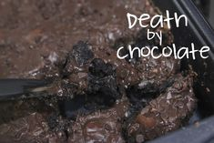 Death By Chocolate (four ingredients)