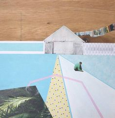 Mairi Timoney Painting Collage, Collage Art, Collages, Paintings, Creative Landscape, Art For Sale, Architecture Art, Find Art, Saatchi Art