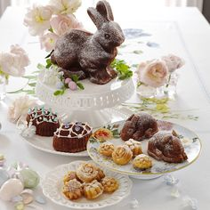 Nordic Ware Easter Bunny Cake Pan and Retail Therapy for Spring, Bunny and Garden Fever | homeiswheretheboatis.net