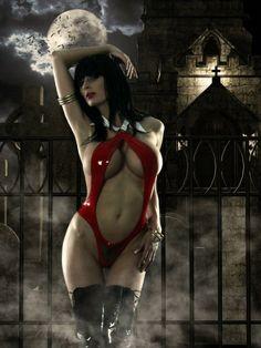 Vampirella by Marie-Claude Bourbonnais.