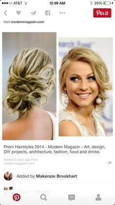 Prom Frisuren 2018 - 15 c - Prom Hair Styles Messy Bun For Short Hair, Wedding Hairstyles For Long Hair, Messy Hairstyles, Prom Hairstyles, Messy Buns, Messy Updo, Black Hairstyles, Hair Wedding, Wedding Guest Updo