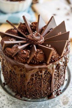 Wicked Windmill Chocolate Cake