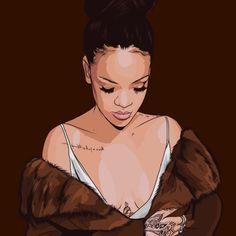 moon–high:  Rihanna