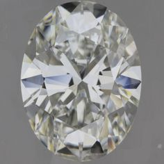 GIA Certified 4.03 Carat H-VS1 Oval Diamond