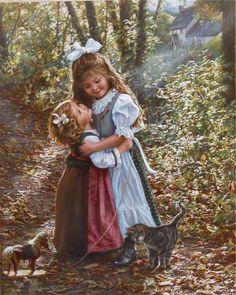 Винтажная живопись с детьми . Обсуждение на LiveInternet - Российский Сервис Онлайн-Дневников