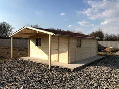 28 mm-es falvastagságú boronafalas kerti faház Shed, Outdoor Structures, Sheds, Tool Storage, Barn