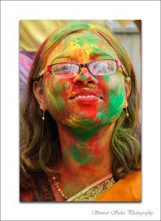 From the festival of Holi in Kolkata, India