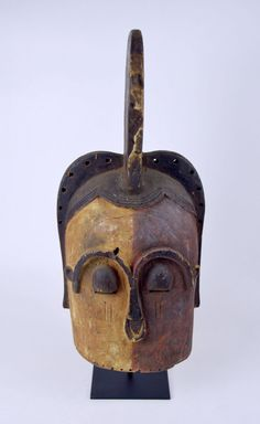Lot: A Rare Kota Emboli helmet mask, African Art, Lot Number: 0078, Starting Bid: $250, Auctioneer: Tribal Gatherings, Auction: African Art / No Reserve / No Buyers Premium, Date: March 11th, 2017 EST