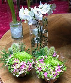 Bodegón con hortensia, orquídea, anastasia... #moonflowerartefloral #hortensia #hydrangea #flores #decoraciónfloral