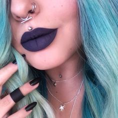 """The """"Hera"""" Septum Ring by shopstaywild.com! This simplistic style is available in sterling silver and 14k gold plated, pierced and faux."""