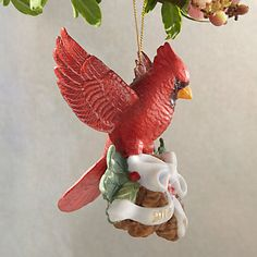Holiday Cardinal Ornament by Lenox