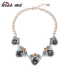 New desain retro paduan geometris besar pernyataan kalung 2016 fashion jewelry untuk wanita choker kalung