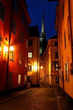 Улочки старого города:стокгольмский этюд.Descartes.1596
