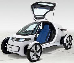 VW_Nils_one-seater The Most Stylish 25 Futuristic Cars Fiat Toro, Volkswagen, Microcar, Cool Vans, Cargo Bike, Weird Cars, Daihatsu, City Car, Futuristic Cars